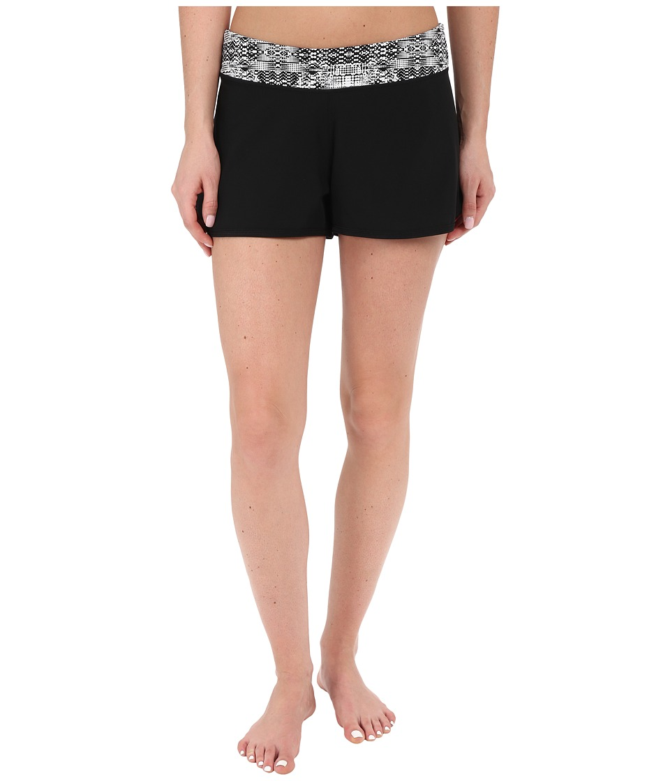 Soybu - Barbados Boardshort (Black Mirage) Women's Swimwear