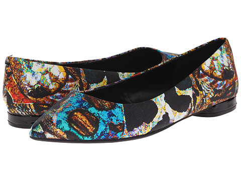 Nine West - Onlee (Black Multi Synthetic) Women's Shoes