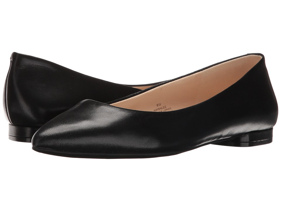 Nine West - Onlee (Black Leather) Women's Shoes