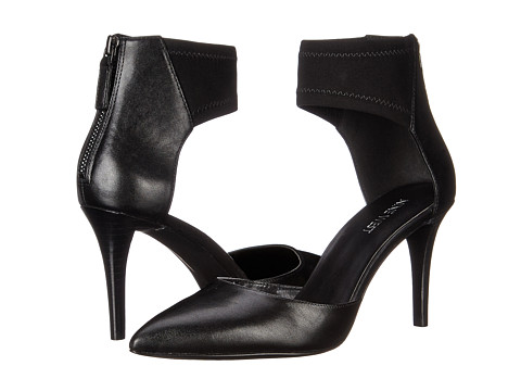 Nine West - Proper (Black/Black Leather) Women