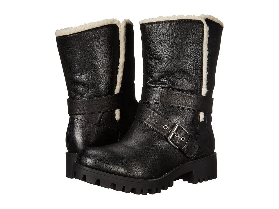 Nine West - Olwyn (Black Leather) Women's Shoes