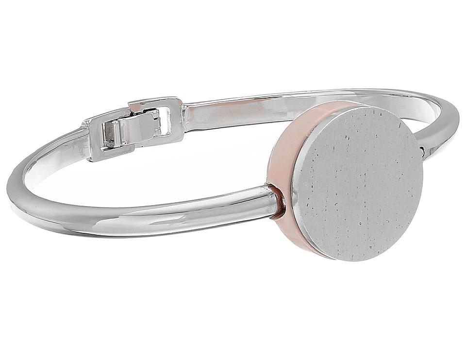 Marc by Marc Jacobs - Cabochon Hinge Cuff Bracelet (Blush) Bracelet
