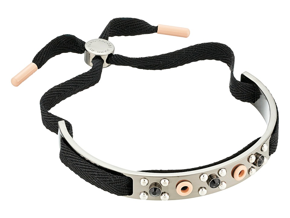 Marc by Marc Jacobs - Eyelet Friendship Bracelet Enamel (Blush Multi) Bracelet