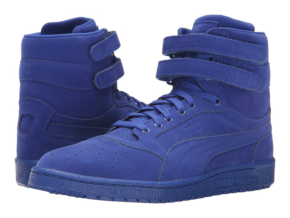 PUMA - Sky II Hi Mono NBK (Surf The Web/White) Men's Basketball Shoes