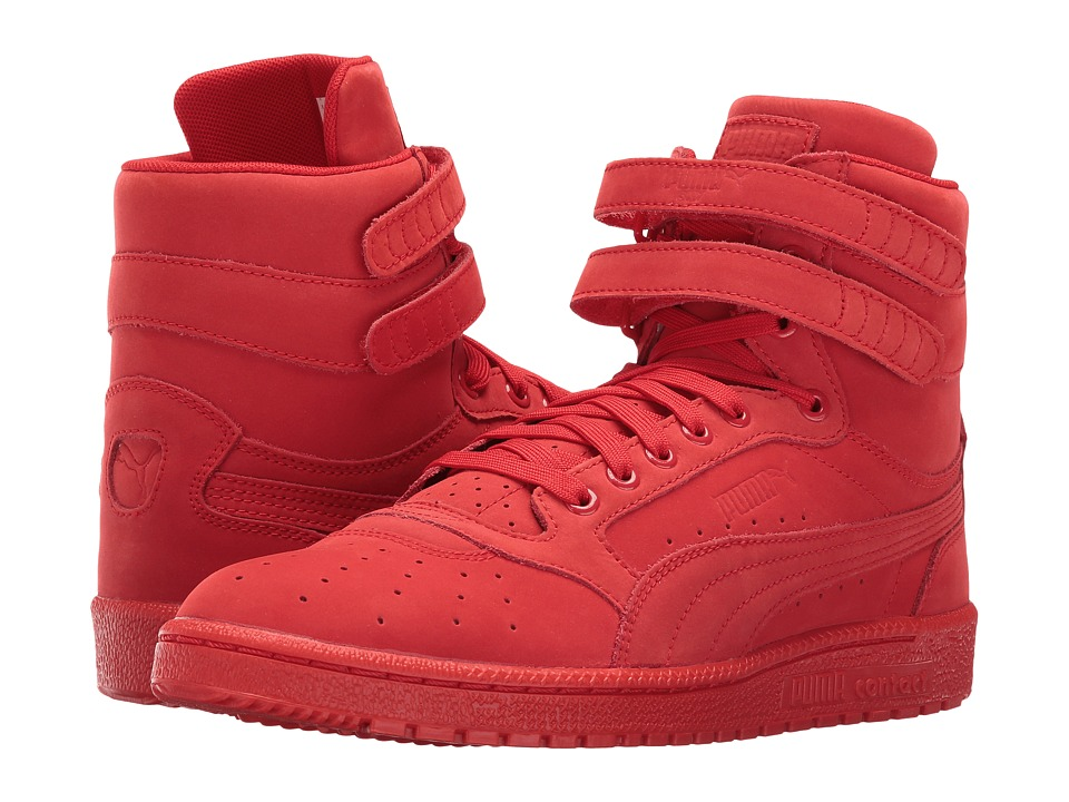 PUMA - Sky II Hi Mono NBK (Flame Scarlet/White) Men's Basketball Shoes