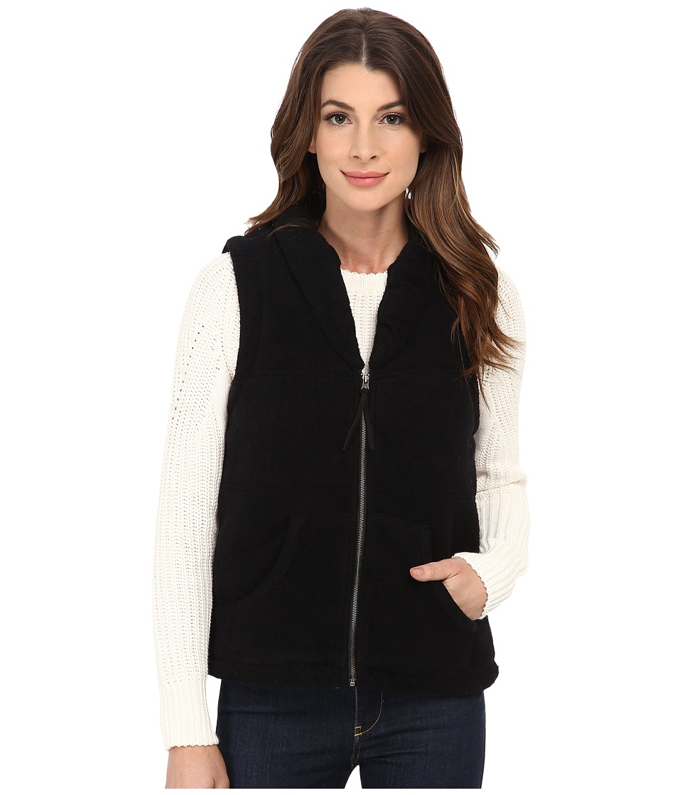Mod-o-doc - Quilted Zip Vest (Black) Women's Vest