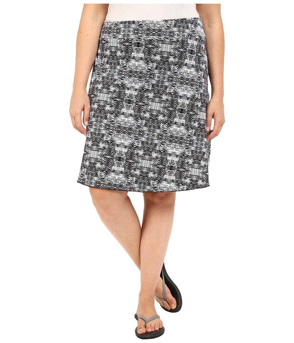 Soybu - Plus Size Wanderlust Skirt (Black Mirage) Women's Skirt
