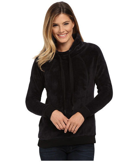 Mod-o-doc - Slouchy Funnel Neck Pullover (Black) Women's Sweatshirt