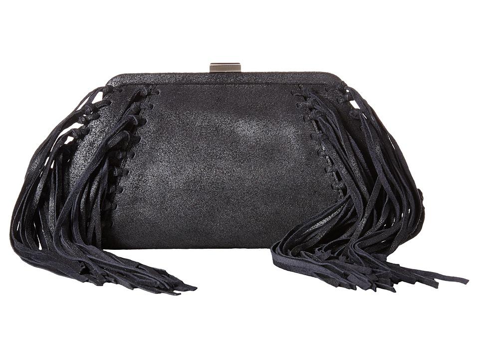 ZAC Zac Posen - Posen Clutch I (Black) Clutch Handbags