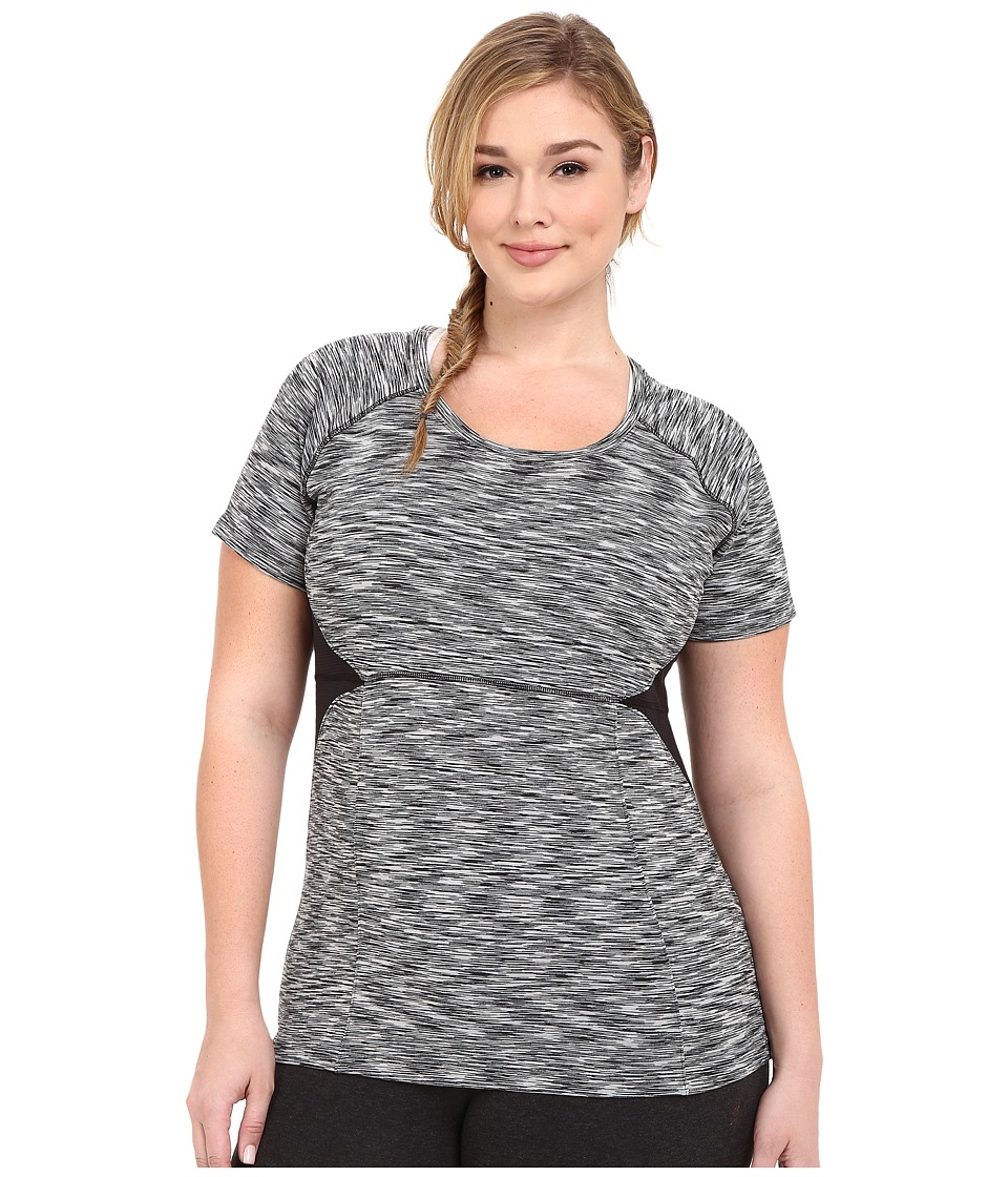 Soybu - Plus Size Evelyn Tee (Black) Women's Short Sleeve Pullover