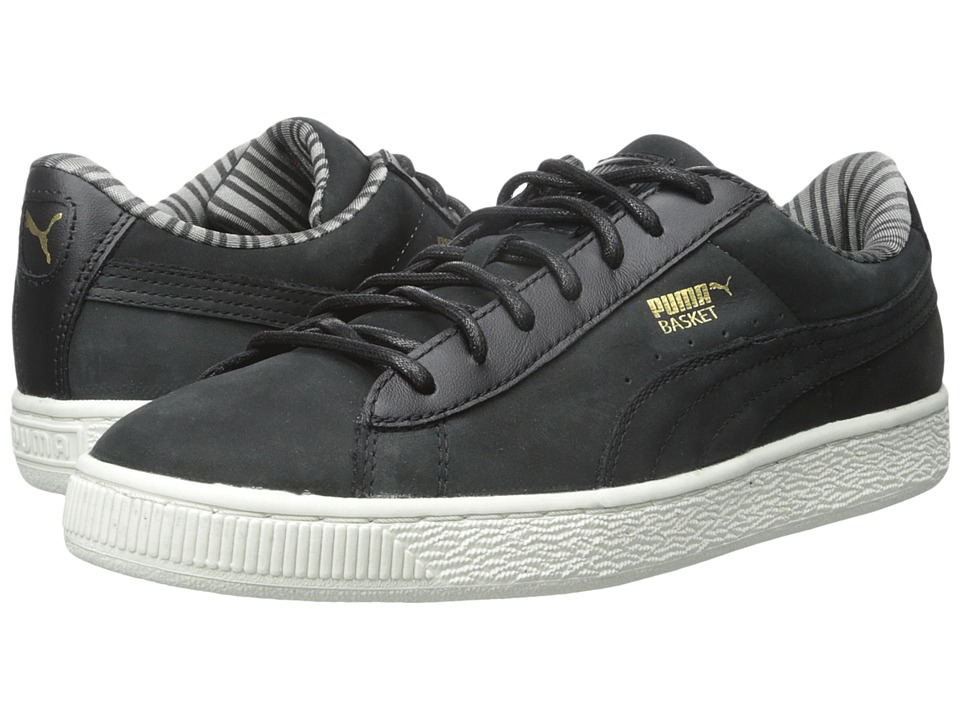 PUMA - Basket Classic Citi (Black) Men's Basketball Shoes