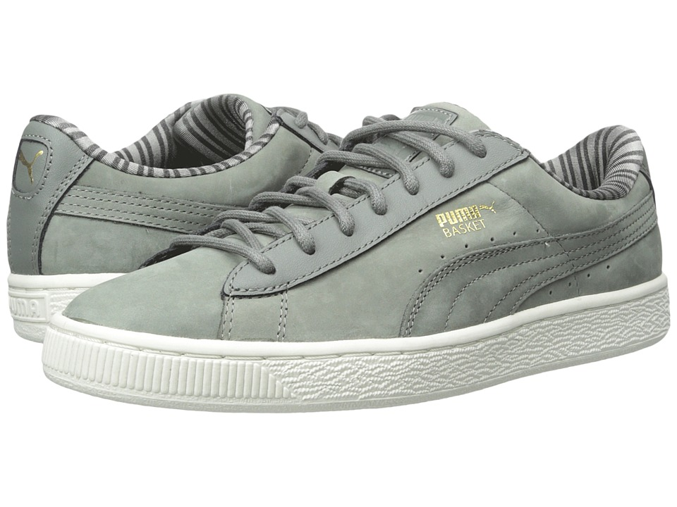 PUMA - Basket Classic Citi (Castor Gray) Men