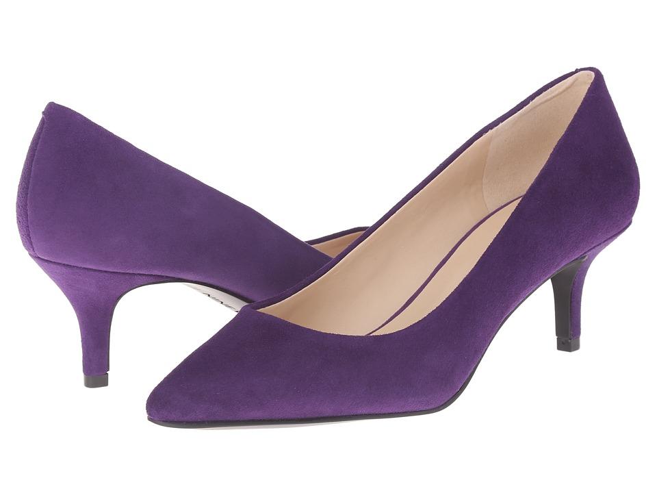 Nine West - Xeena (Dark Purple Suede) Women