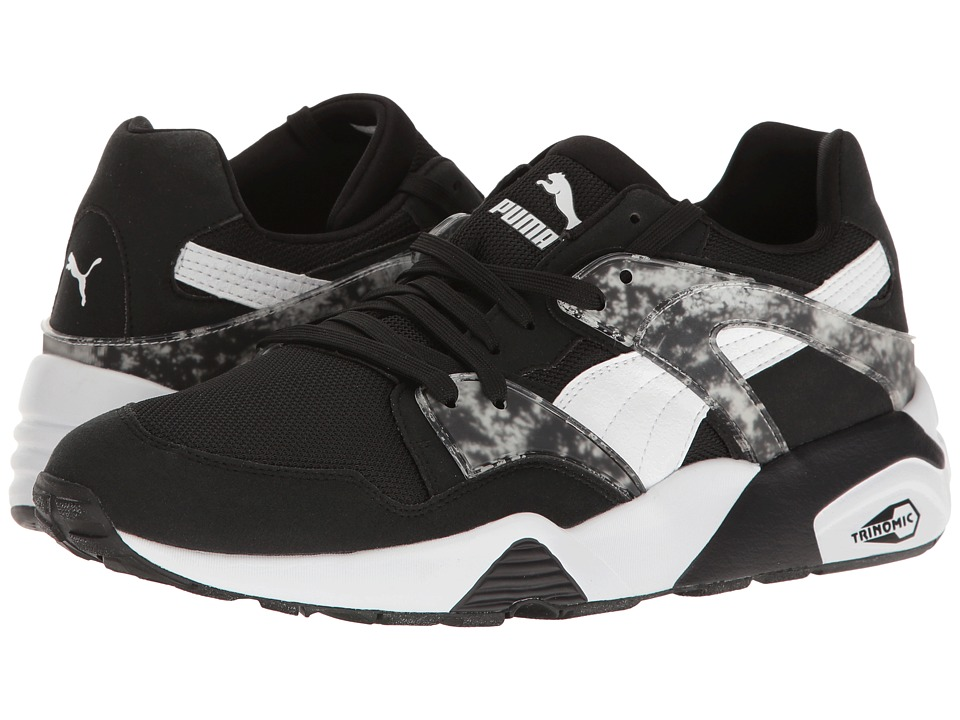 PUMA - Blaze Marble (Black/White) Men's Running Shoes