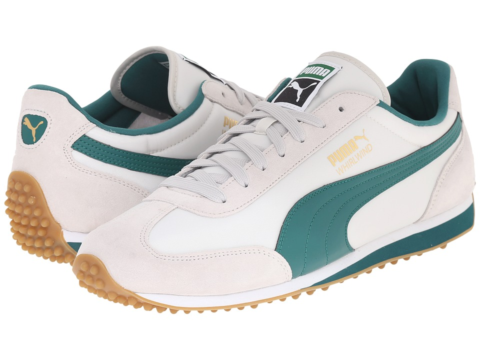 PUMA - Whirlwind Classic (Glacier Gray/Storm/White) Men's Lace up casual Shoes