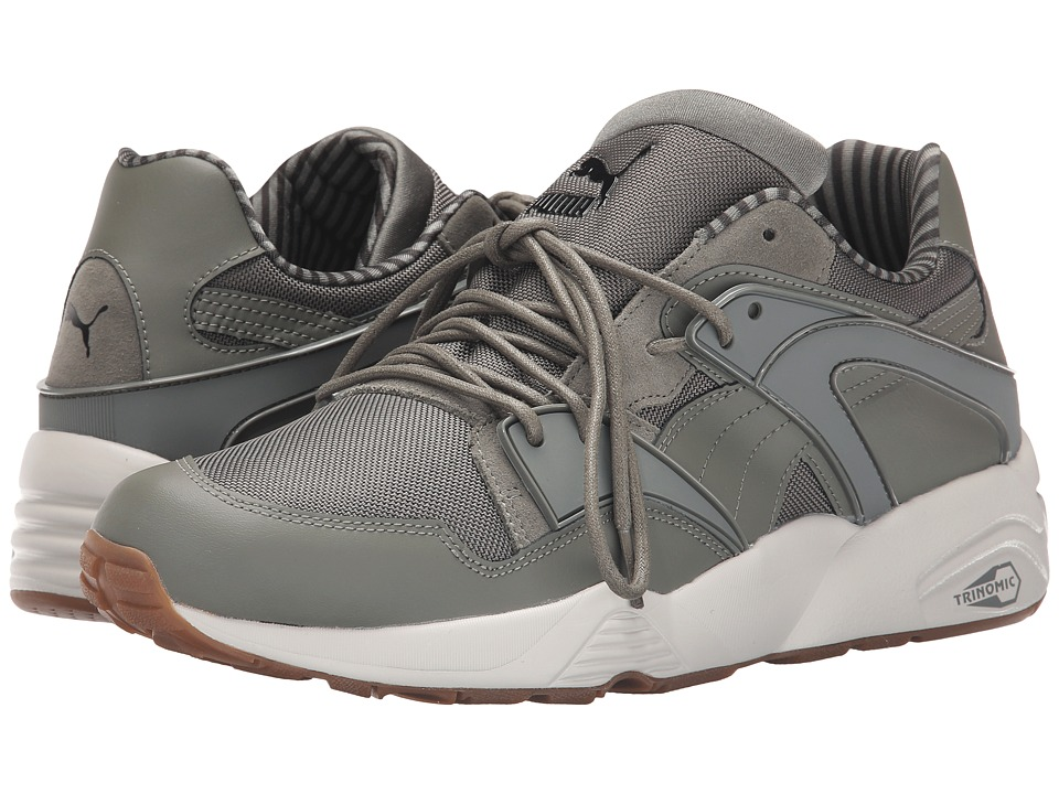 PUMA - Blaze Citi Series (Castor Gray/Black/Vaporous Gray) Men's Running Shoes
