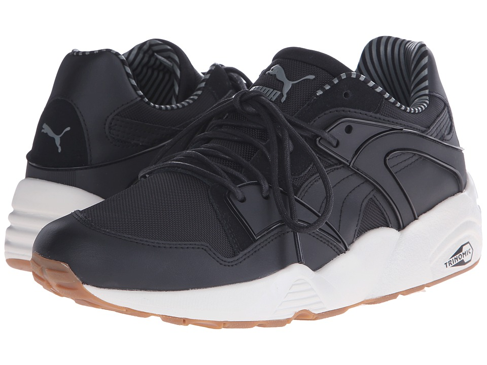 PUMA - Blaze Citi Series (Black/Castor Gray/Vaporous Gray) Men's Running Shoes