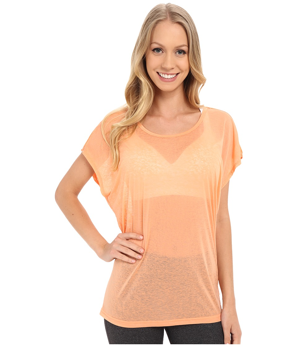 Soybu - Camryn Tee (Sweet Peach) Women's Short Sleeve Pullover