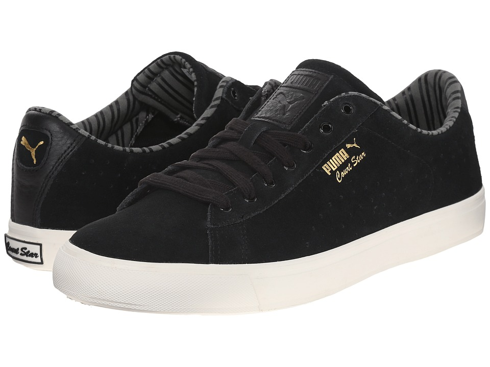 PUMA - Court Star Vulc Citi Series (Black) Men's Tennis Shoes