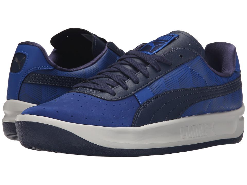 PUMA - GV Special Geometric (Surf The Web/Peacoat/Glacier Gray) Men's Tennis Shoes