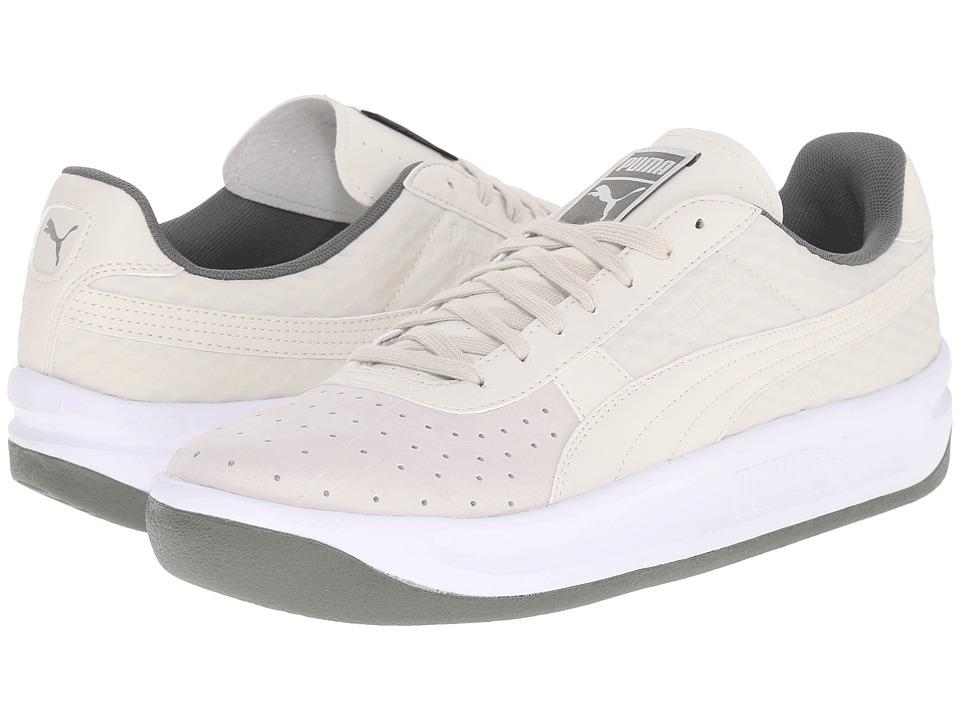 PUMA - GV Special Textured (Vaporous Gray/Puma Silver/Castor Gray) Men's Tennis Shoes