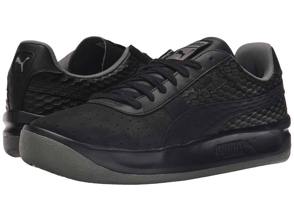PUMA - GV Special Textured (Black/Puma Silver/Castor Gray) Men