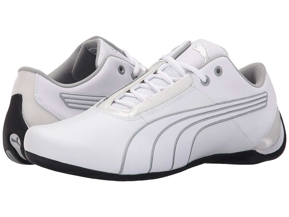 PUMA - Future Cat S1 NM (White/White/Quarry) Men's Shoes