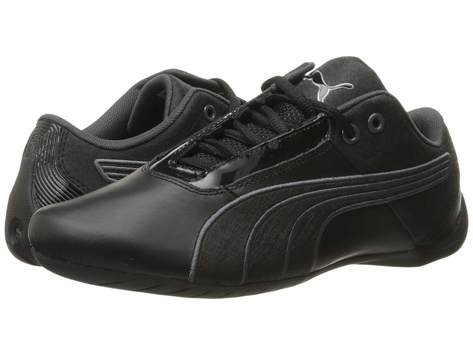 PUMA - Future Cat S1 NM (Black/Black/Asphalt) Men's Shoes