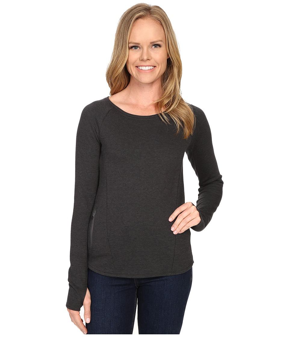 The North Face - Slacker Pullover (TNF Dark Grey Heather) Women's Long Sleeve Pullover