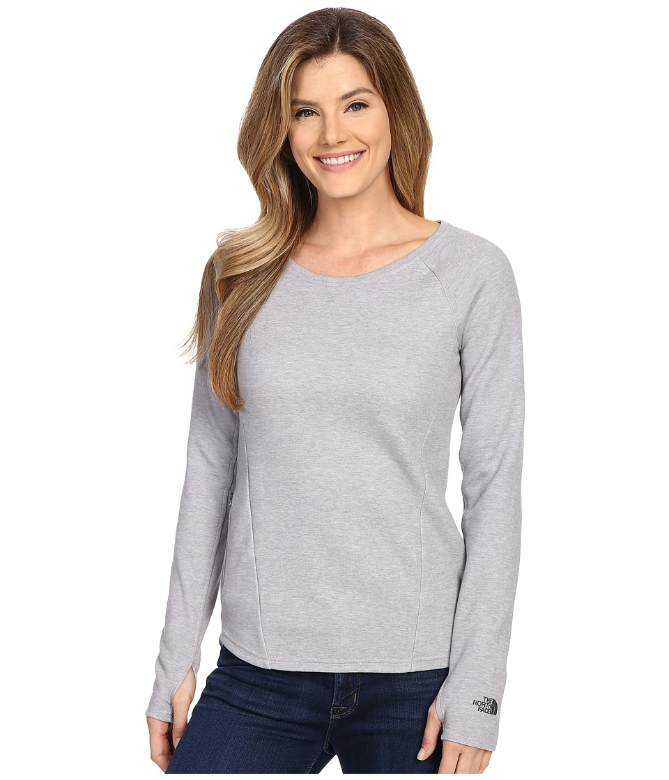 The North Face - Slacker Pullover (TNF Light Grey Heather) Women's Long Sleeve Pullover