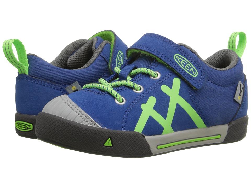 Keen Kids - Encanto (Toddler/Little Kid) (True Blue/Jasmine Green) Boy's Shoes