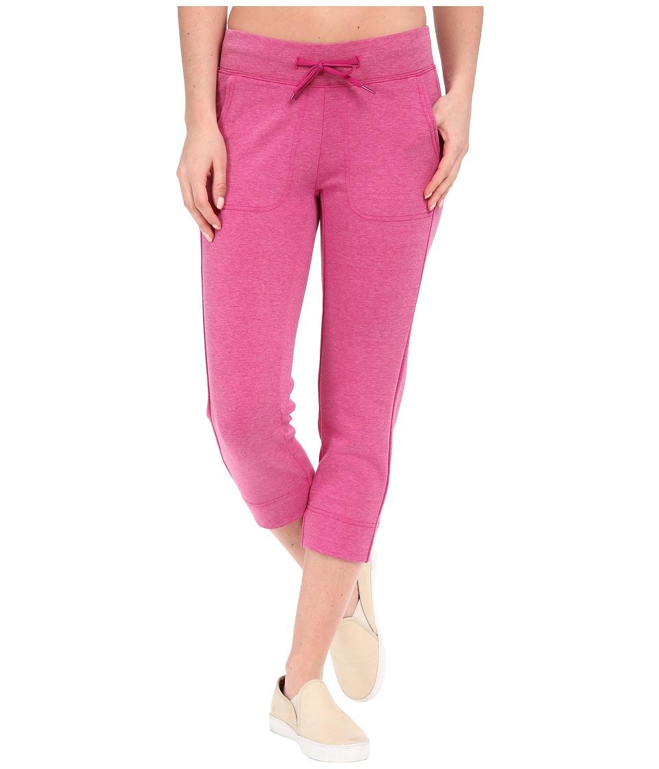 The North Face - Slacker Capris (Fuchsia Pink Heather) Women's Capri