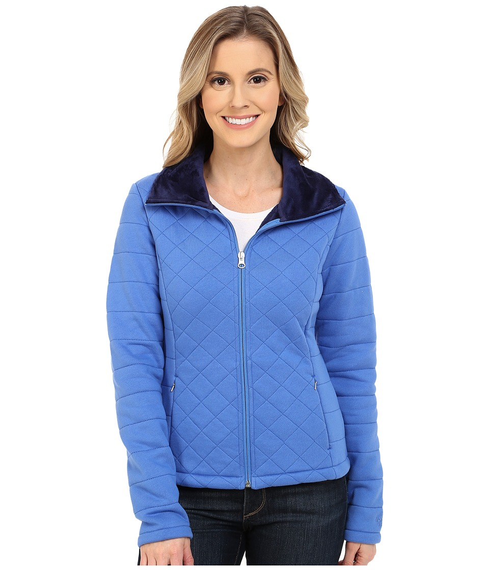 The North Face - Caroluna Crop Jacket (Coastline Blue) Women's Coat