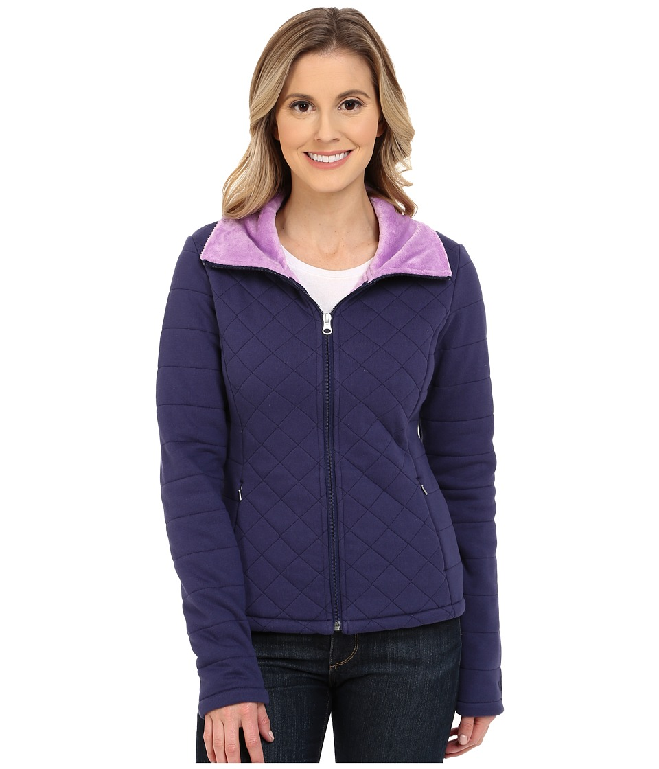 The North Face - Caroluna Crop Jacket (Patriot Blue) Women's Coat