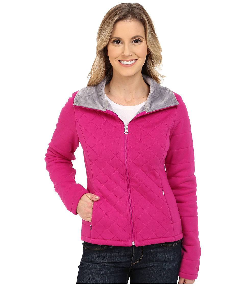 The North Face - Caroluna Crop Jacket (Fuchsia Pink) Women's Coat
