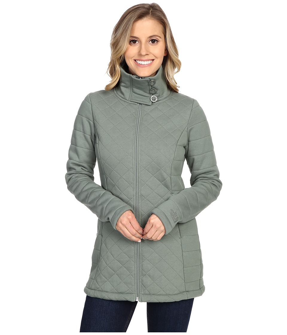 The North Face - Caroluna Jacket (Laurel Wreath Green) Women's Coat