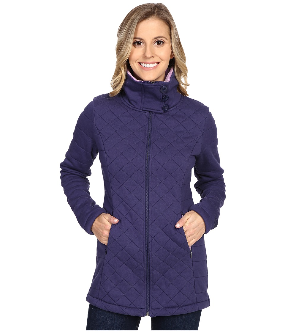 The North Face - Caroluna Jacket (Patriot Blue) Women's Coat