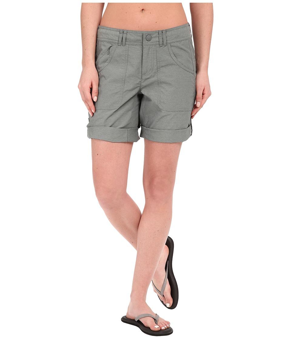 The North Face - Horizon 2.0 Roll-Up Shorts (Sedona Sage Grey (Prior Season)) Women's Shorts