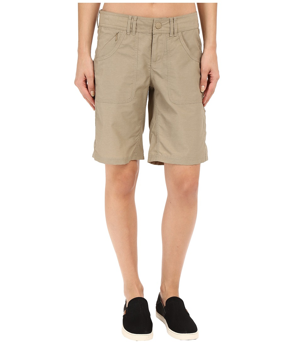 The North Face - Horizon 2.0 Roll-Up Shorts (Dune Beige) Women's Shorts