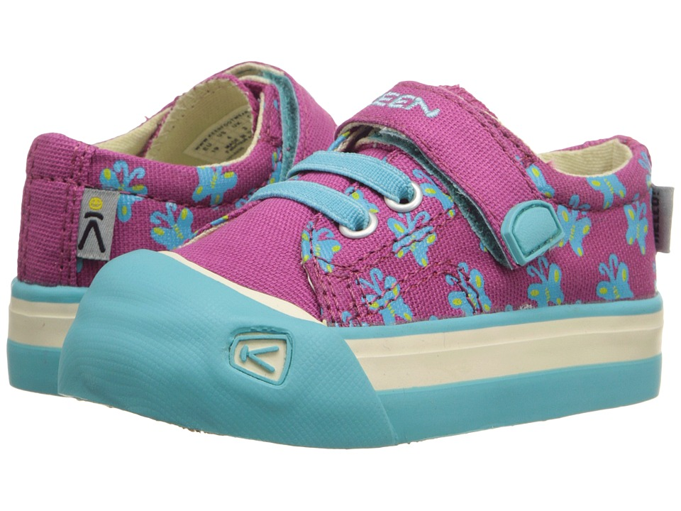 Keen Kids - Coronado Print (Toddler) (Very Berry Butterfly) Girls Shoes