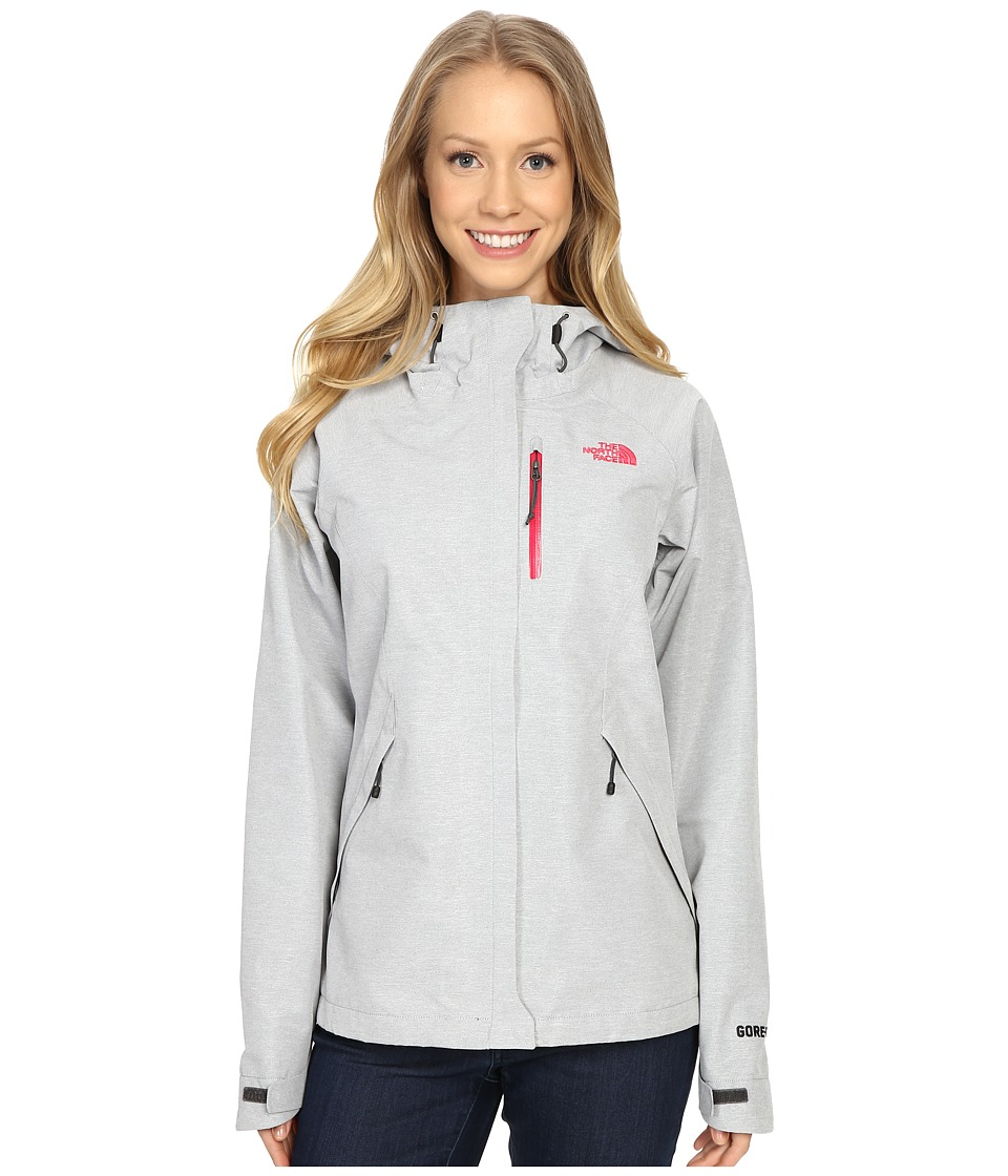 The North Face - Dryzzle Jacket (High Rise Grey Heather) Women's Coat