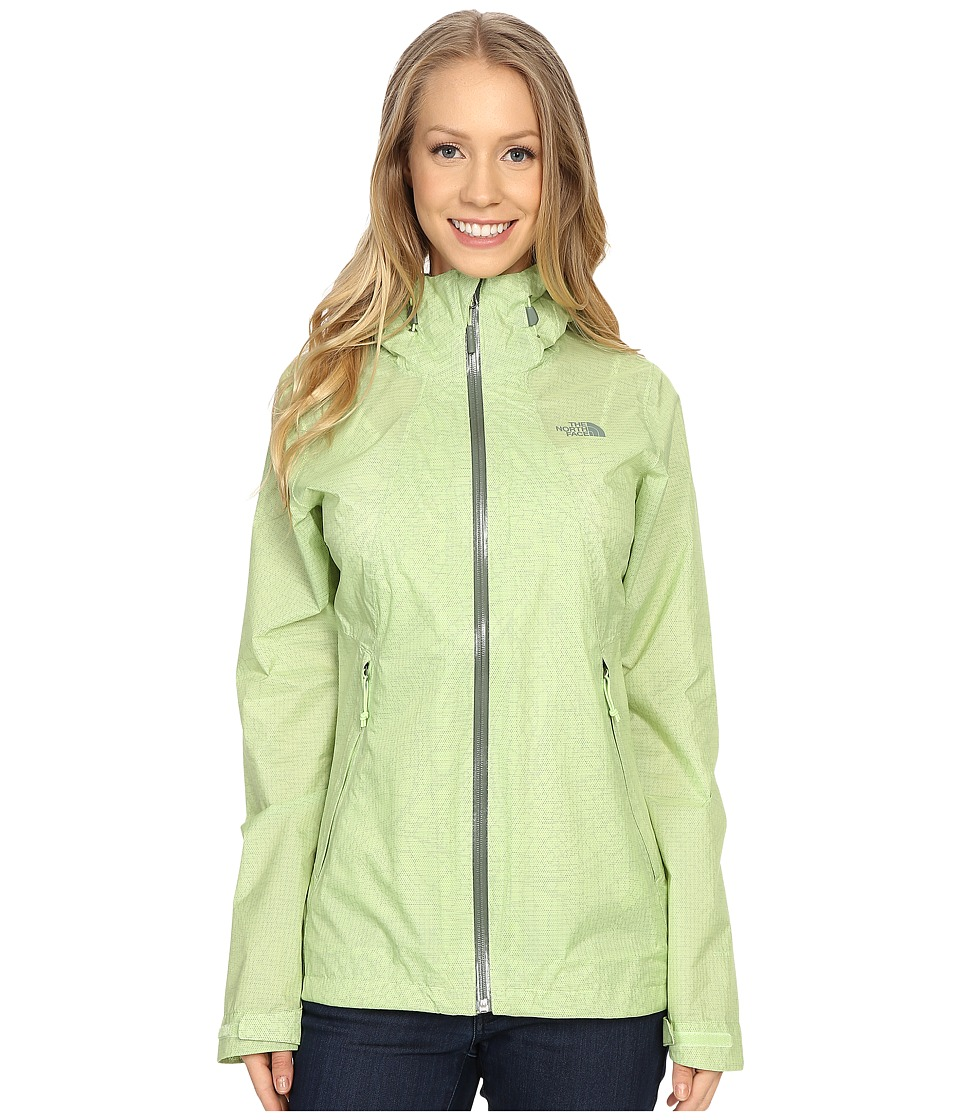 The North Face - Venture Fastpack Jacket (Budding Green) Women's Coat