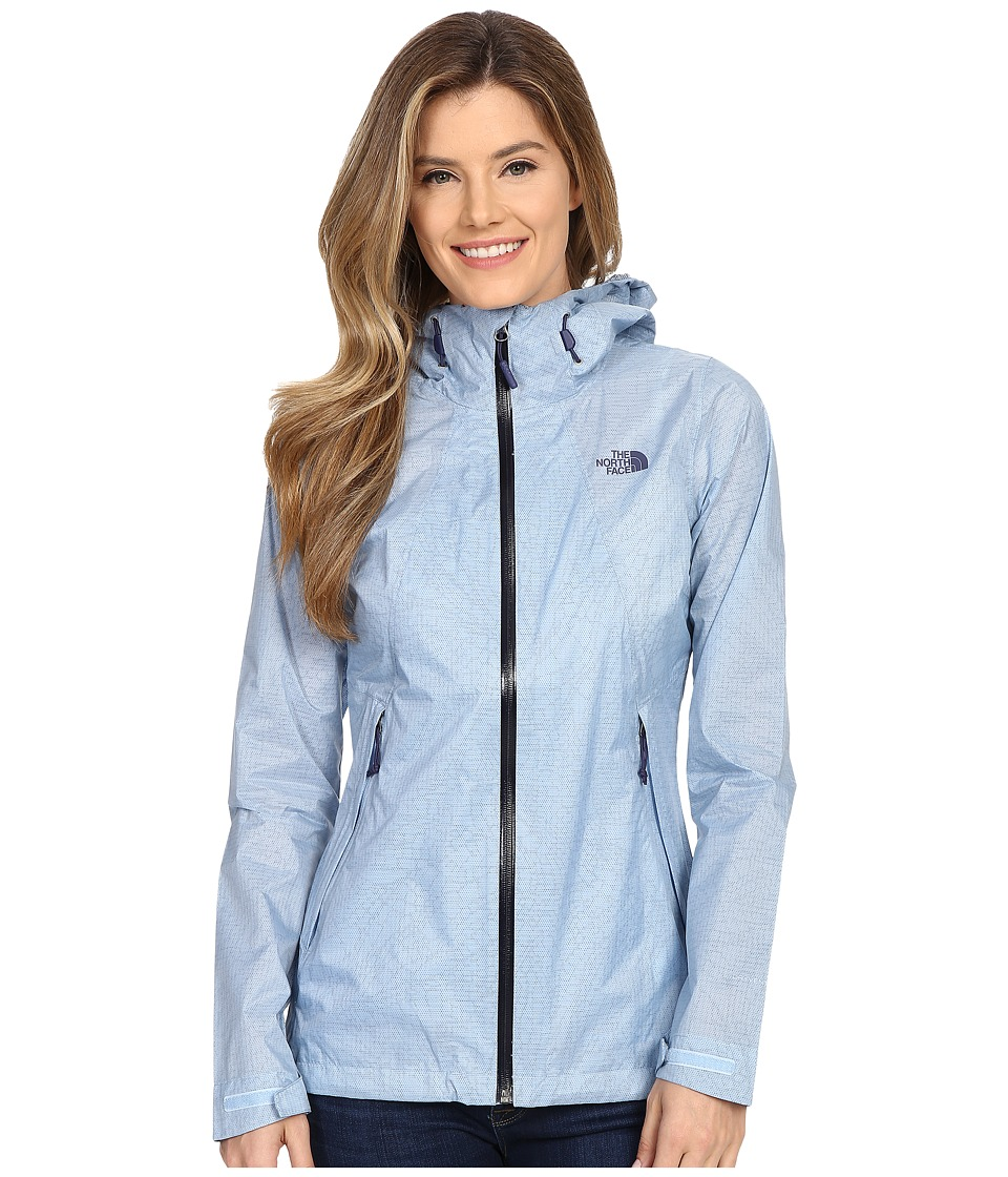 The North Face - Venture Fastpack Jacket (Powder Blue) Women's Coat