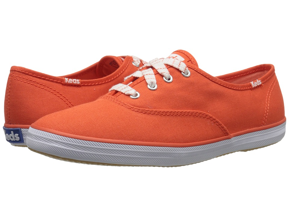 Keds Champion Seasonal Solids (Mandarin) Women