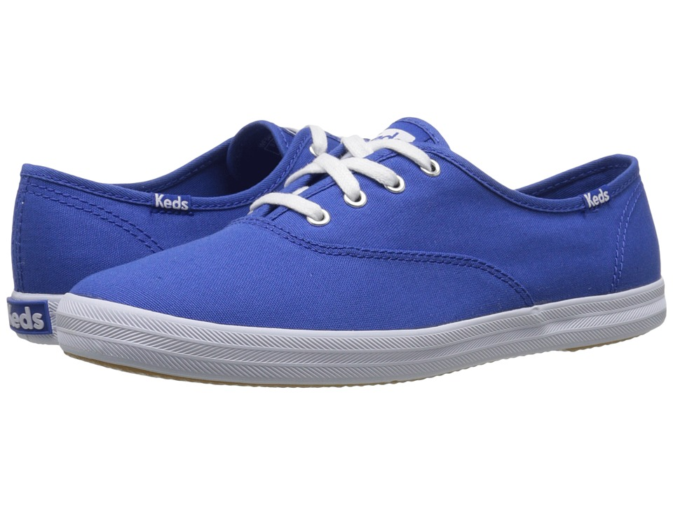 Keds - Champion Seasonal Solids (Blue 2) Women's Lace up casual Shoes