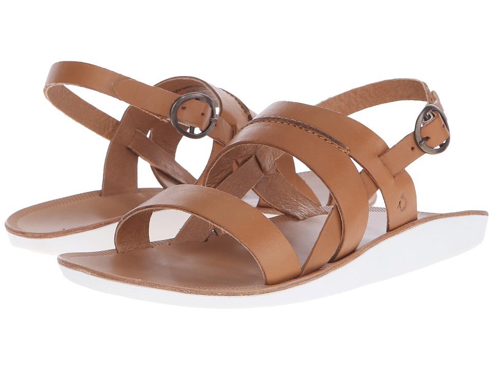 OluKai - Loea Sandal (Mustard/Bone) Women's Sandals