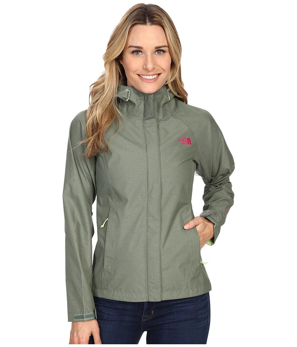 The North Face - Venture Jacket (Laurel Wreath Green Heather) Women's Coat