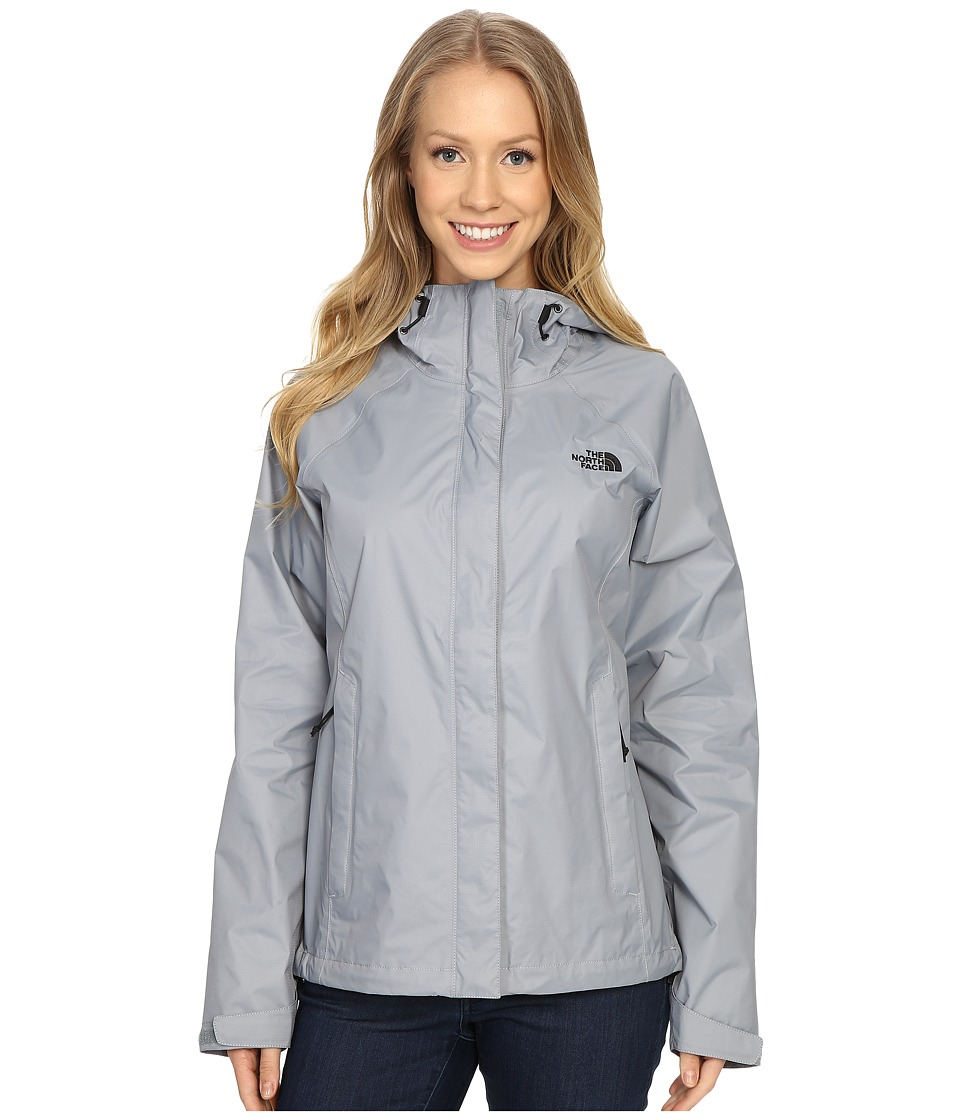 The North Face Venture Jacket (Mid Grey/TNF Black) Women