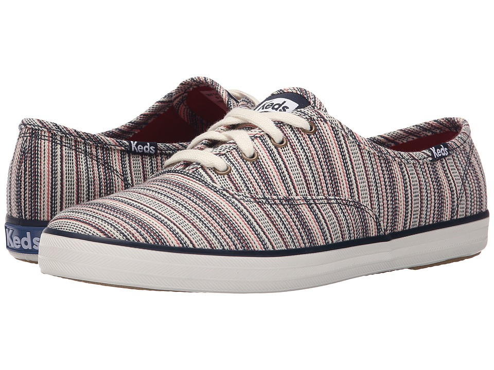 Keds Champion Woven Stripe (Cream Multi) Women