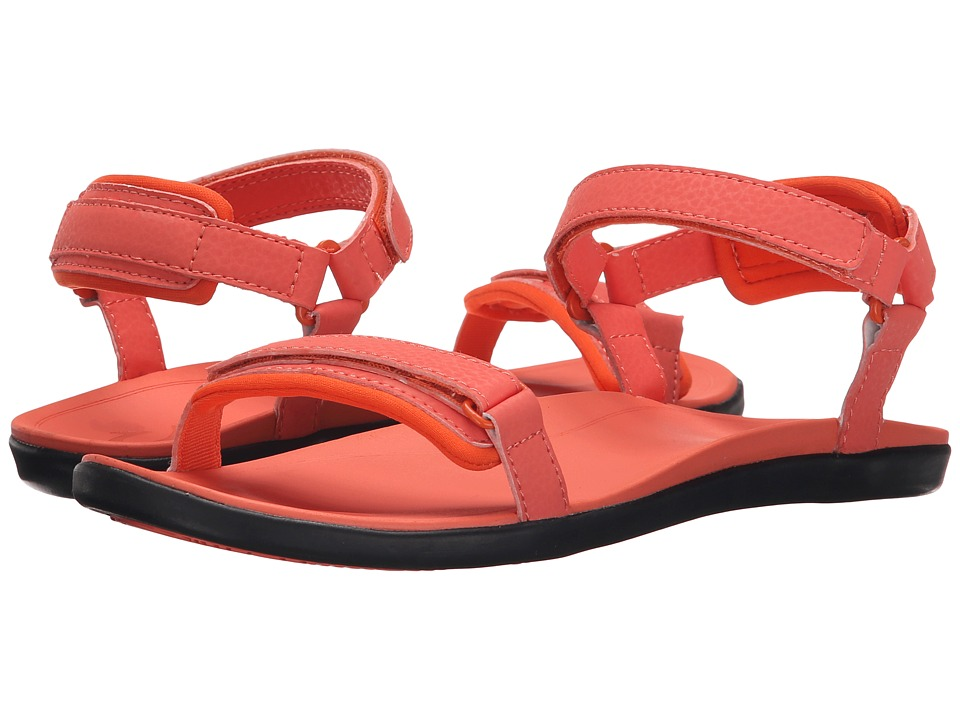OluKai - Luana (Coral/Coral) Women's Sandals